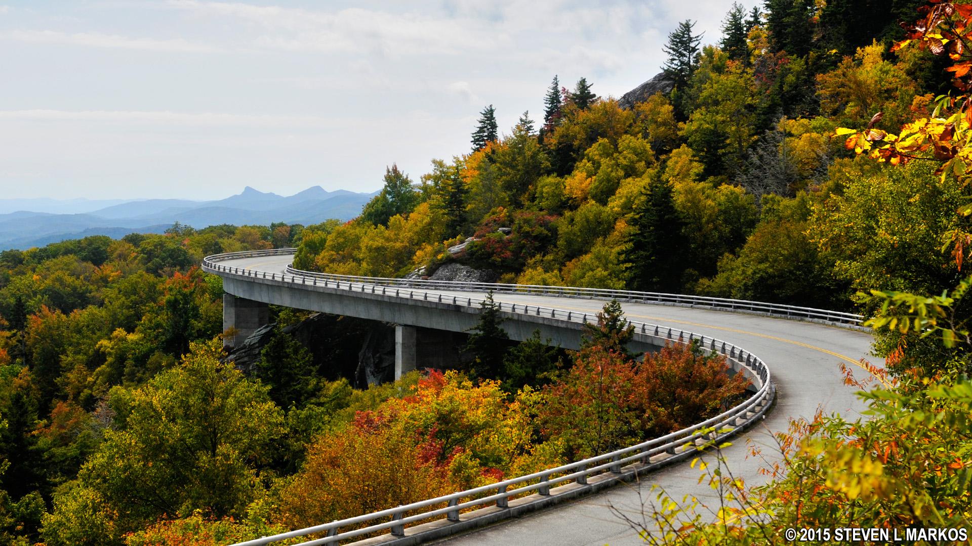 Linn Cove Viaduct, MP 304 - Blue Ridge Parkway