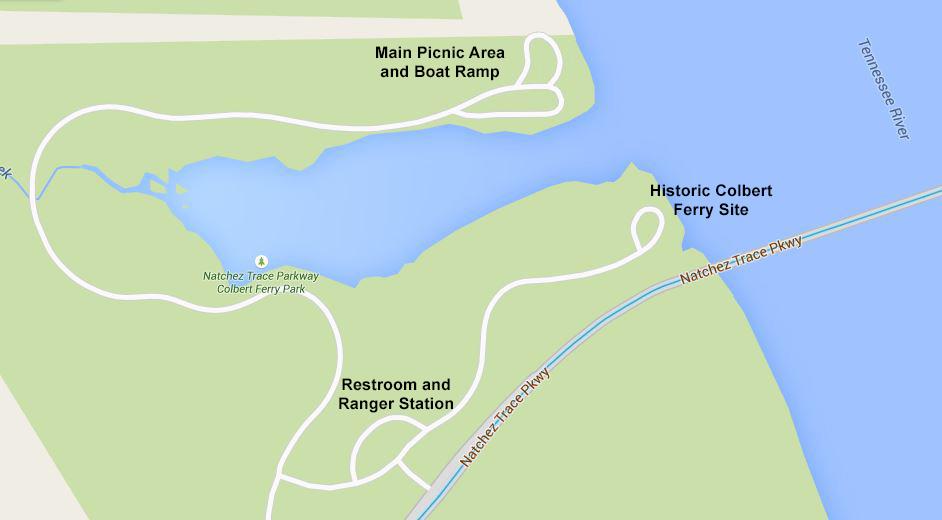 Natchez Trace Parkway Colbert Ferry Park Mp 327 3