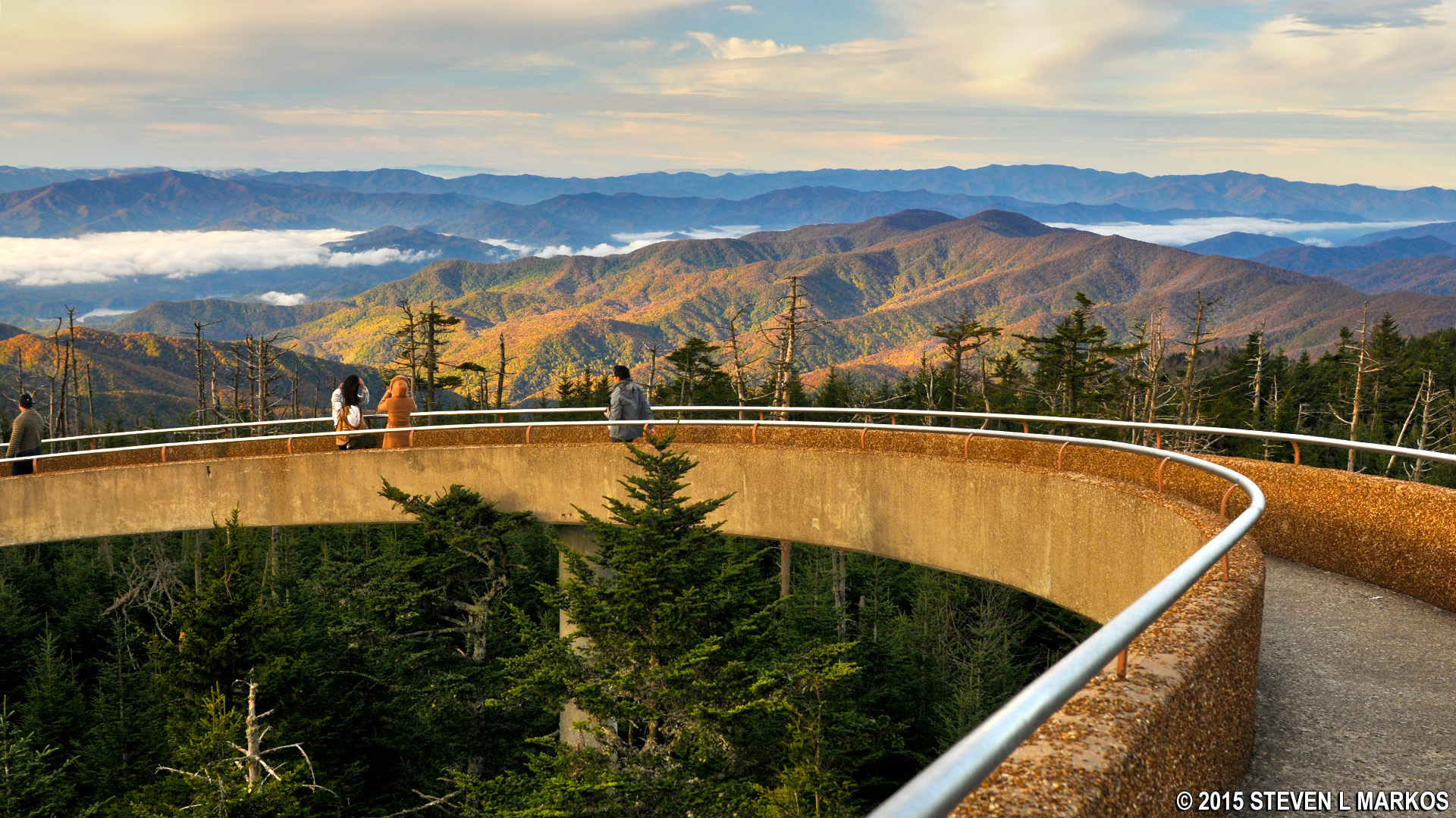 Great Smoky Mountains National Park | CLINGMANS DOME ...