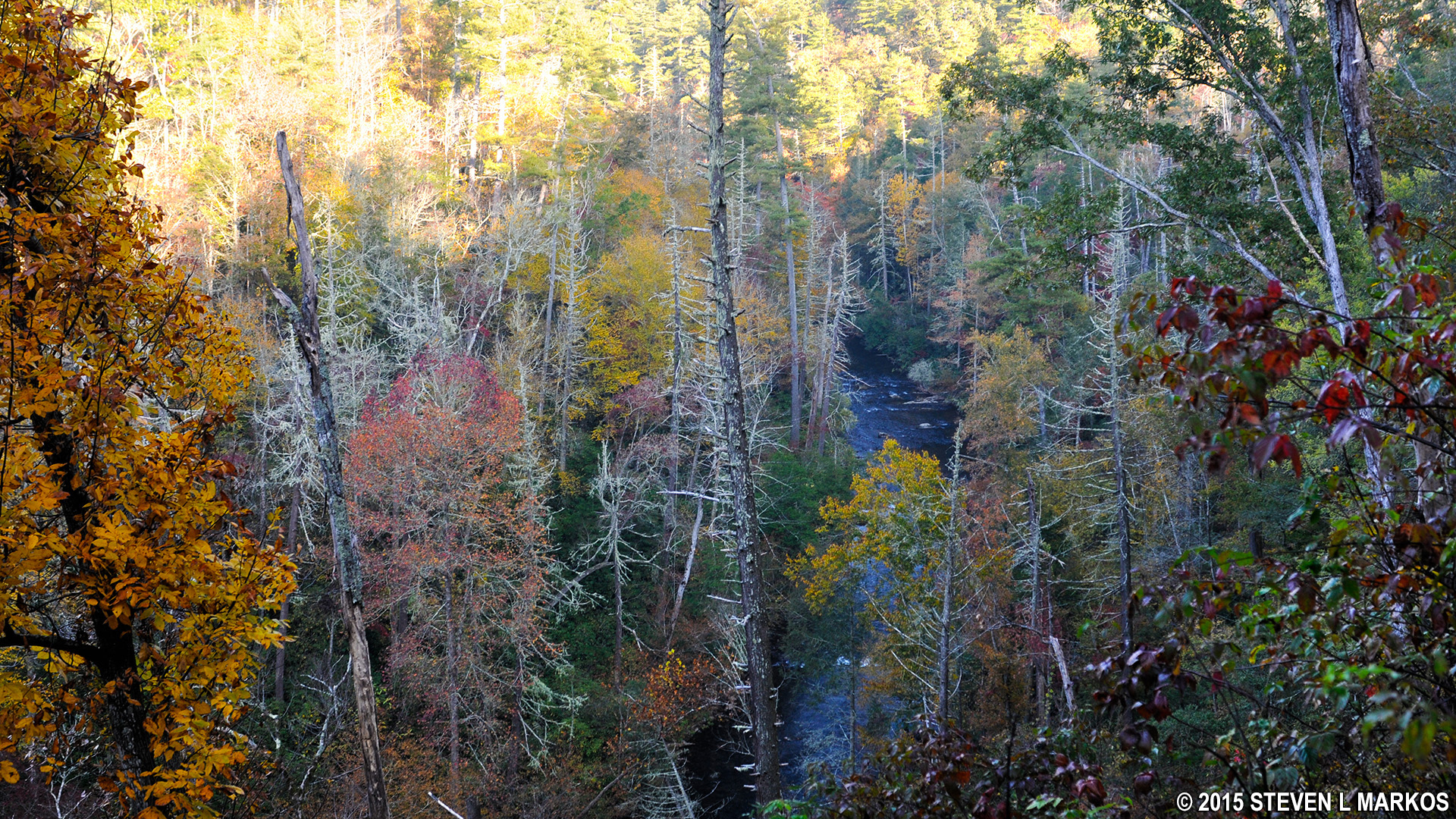 Great Smoky Mountains National Park | ABRAMS FALLS – HANNAH MTN