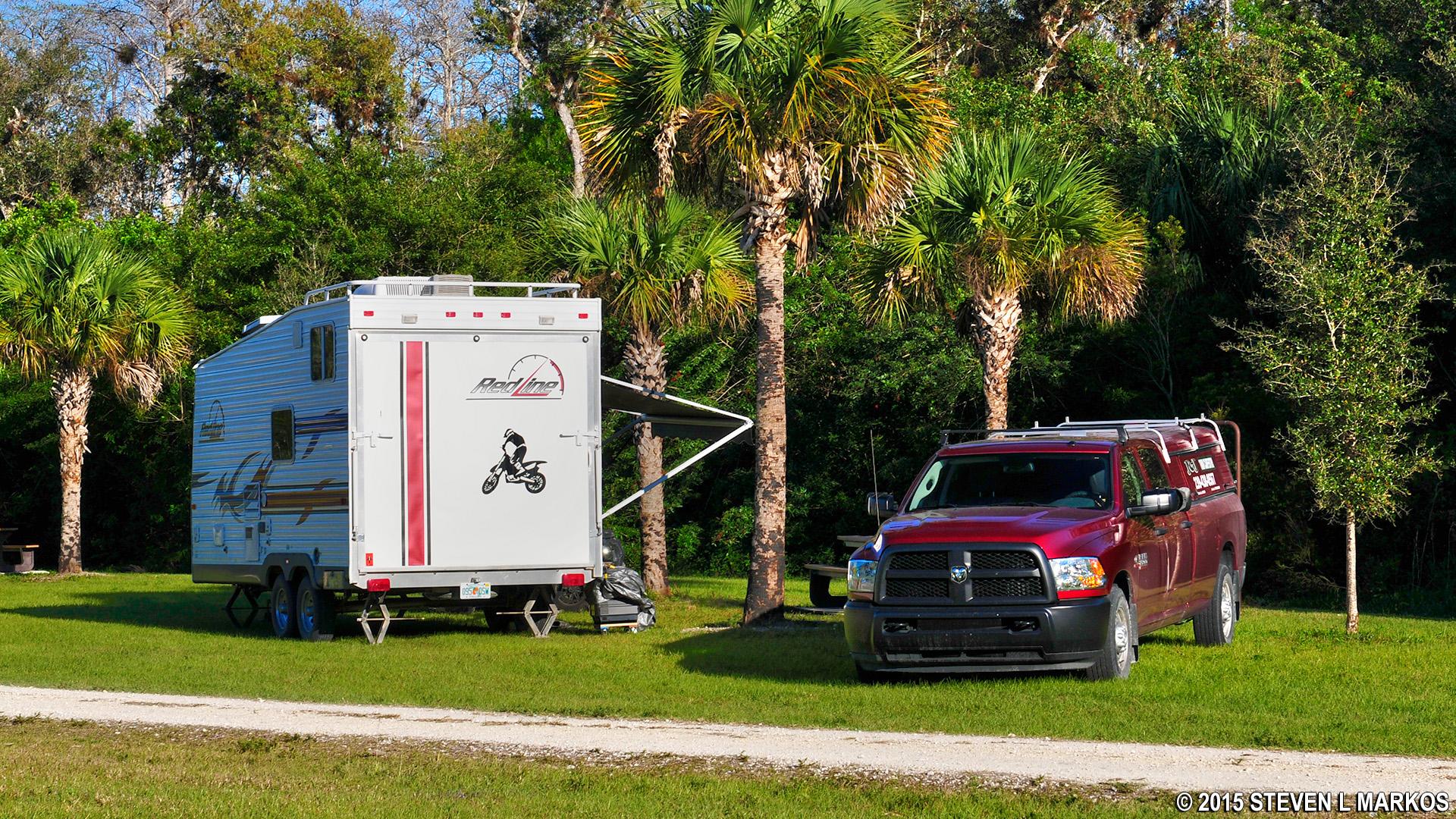 RV Camping At Bear Island