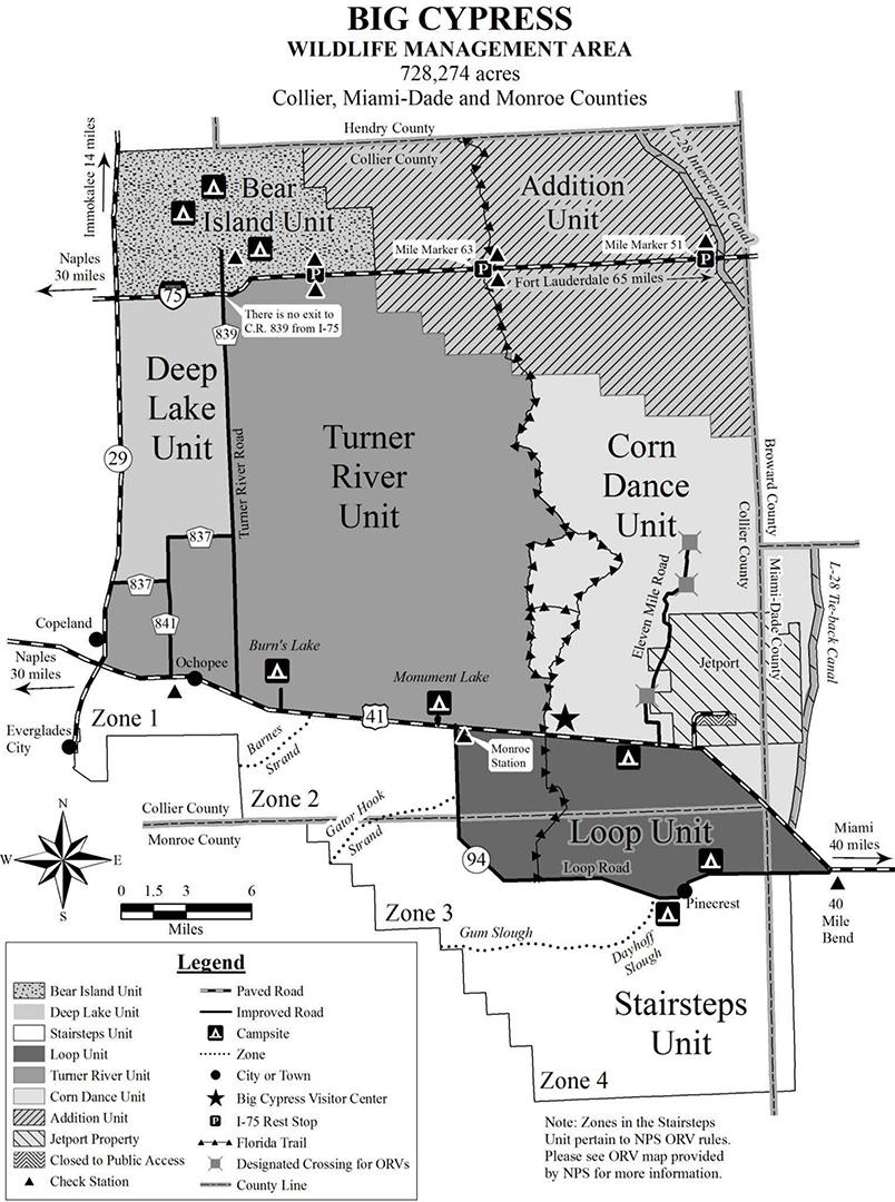Big Cypress National Preserve | TURNER RIVER BACKCOUNTRY UNIT |