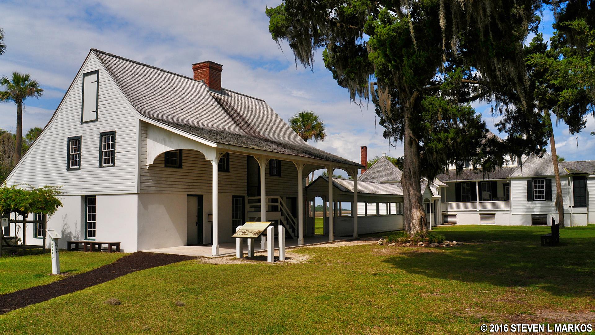 Plantation Kitchen House Timucuan Ecological And Historic Preserve  Kingsley Plantation
