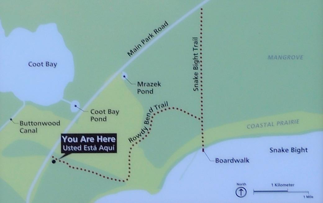 Everglades National Park SNAKE BIGHT TRAIL