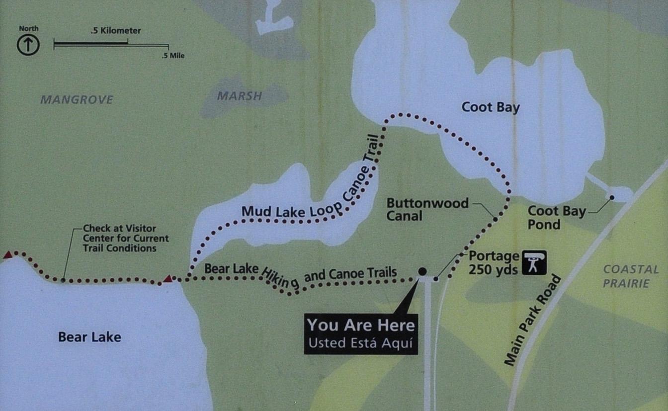 Everglades National Park BEAR LAKE TRAIL