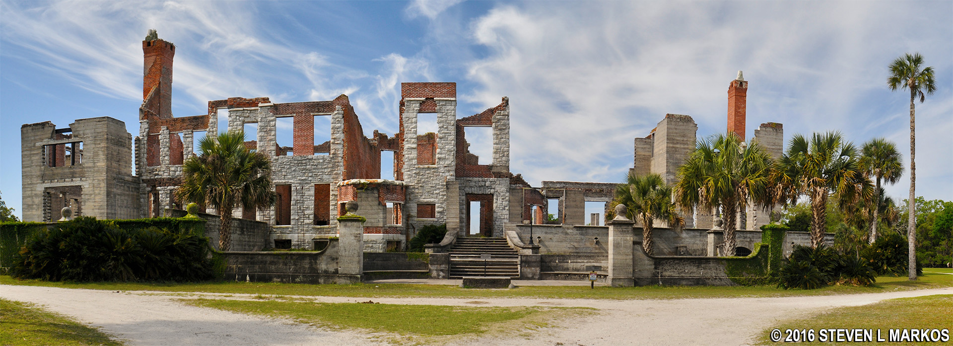 Cumberland Island National Seashore Dungeness Mansion