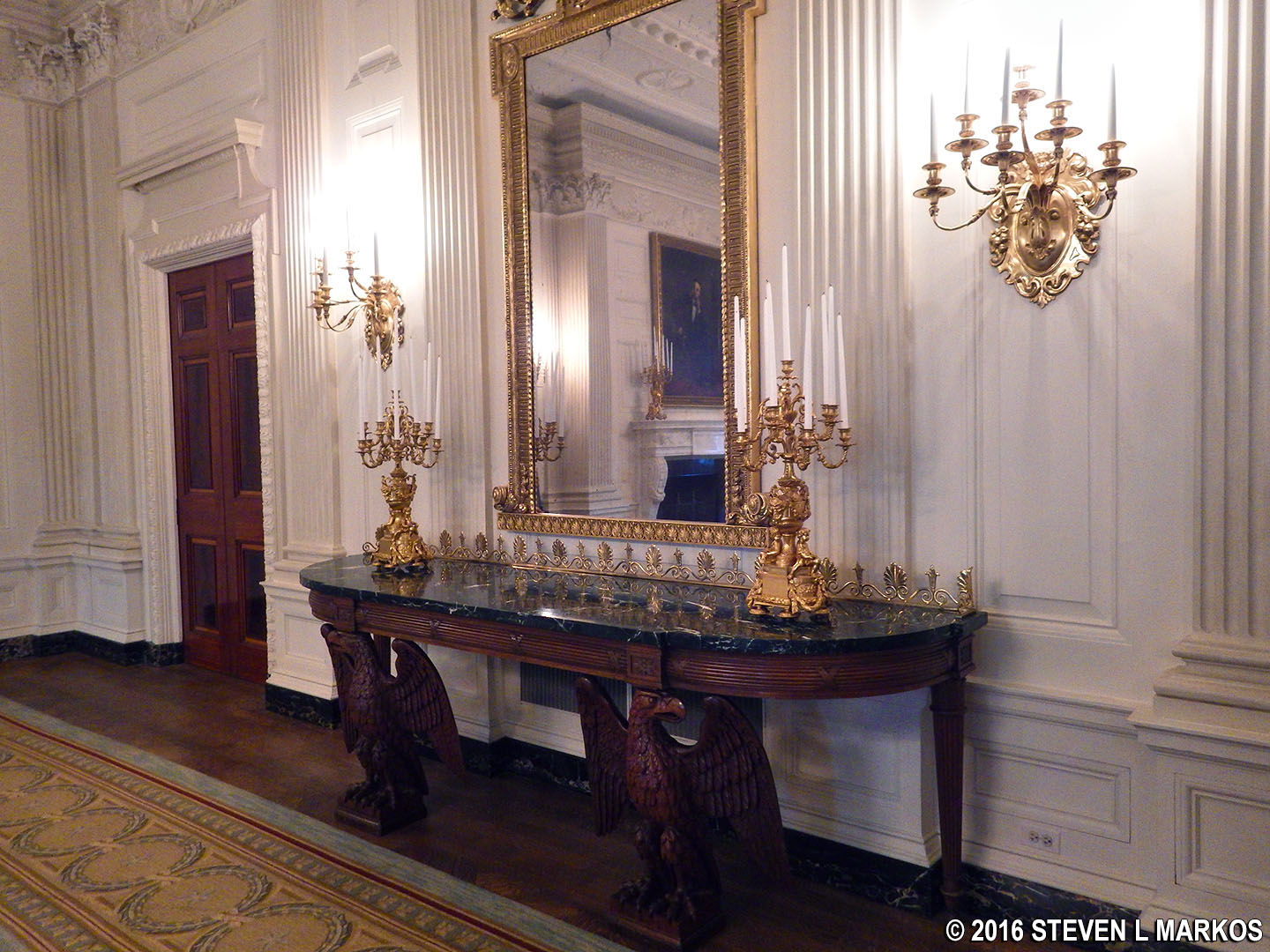 Presidents park white house white house tour state floor rooms state dining room dzzzfo