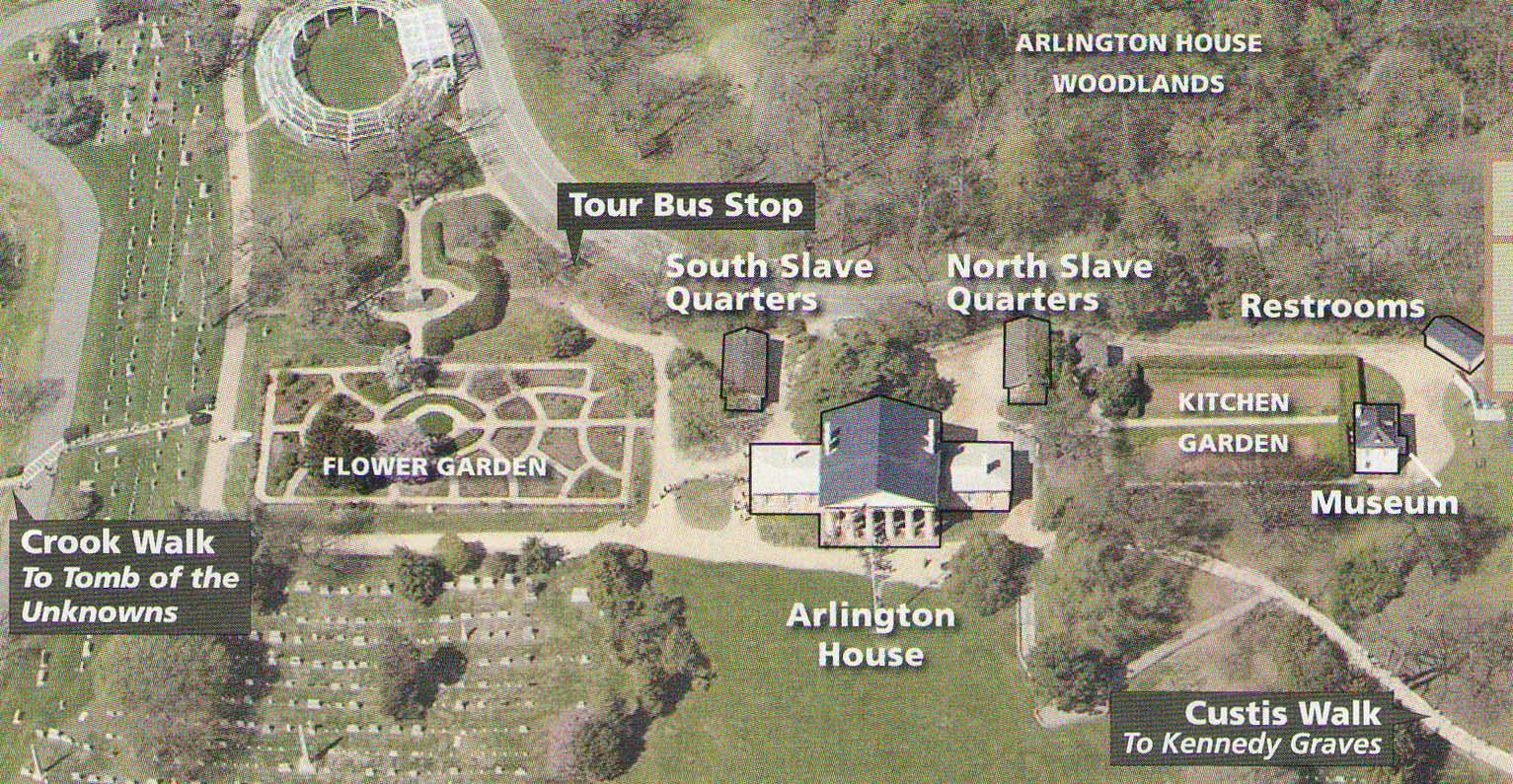 Arlington House, the Robert E. Lee Memorial | PARK MAP |