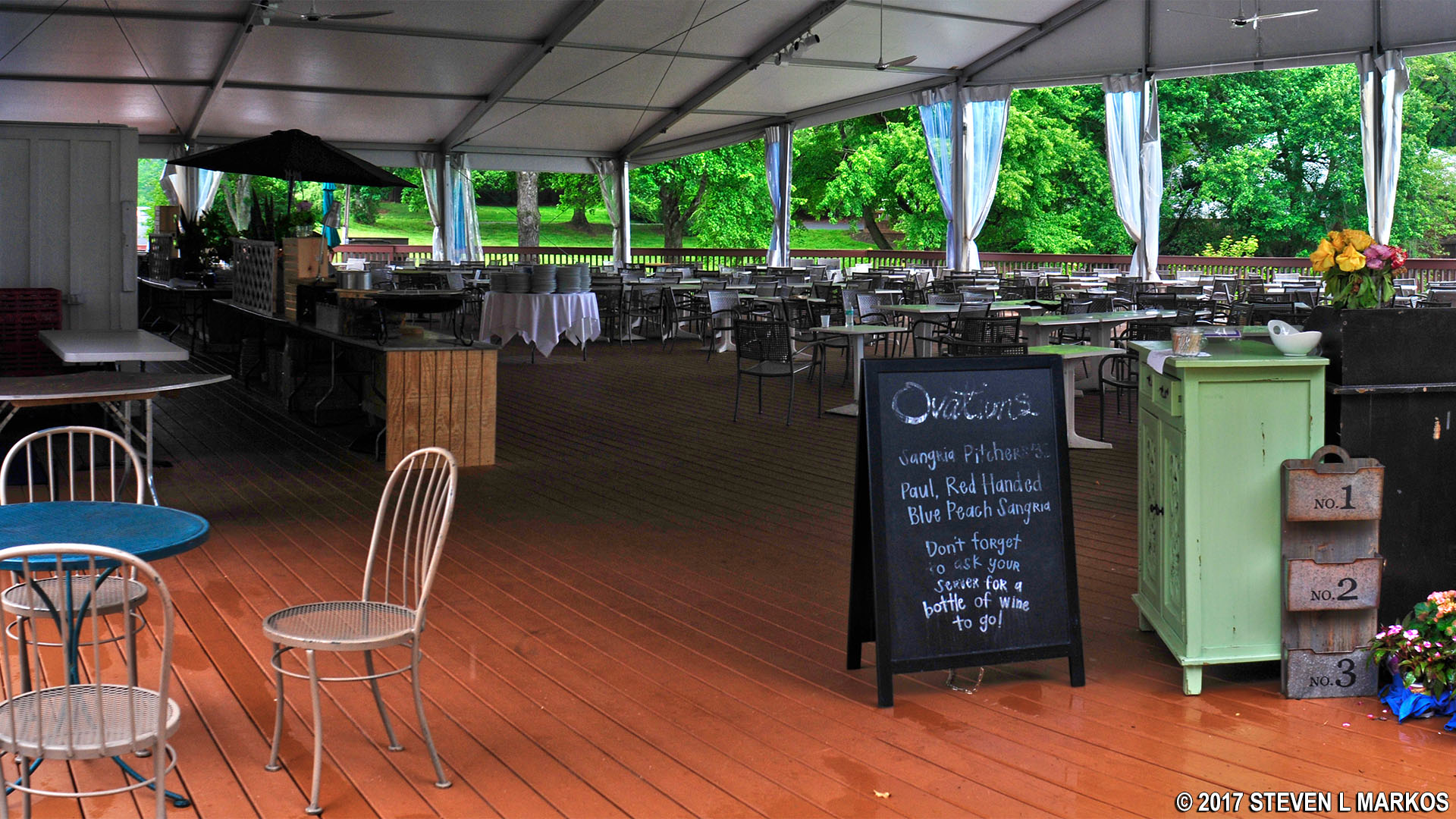 Ovations Restaurant At Wolf Trap