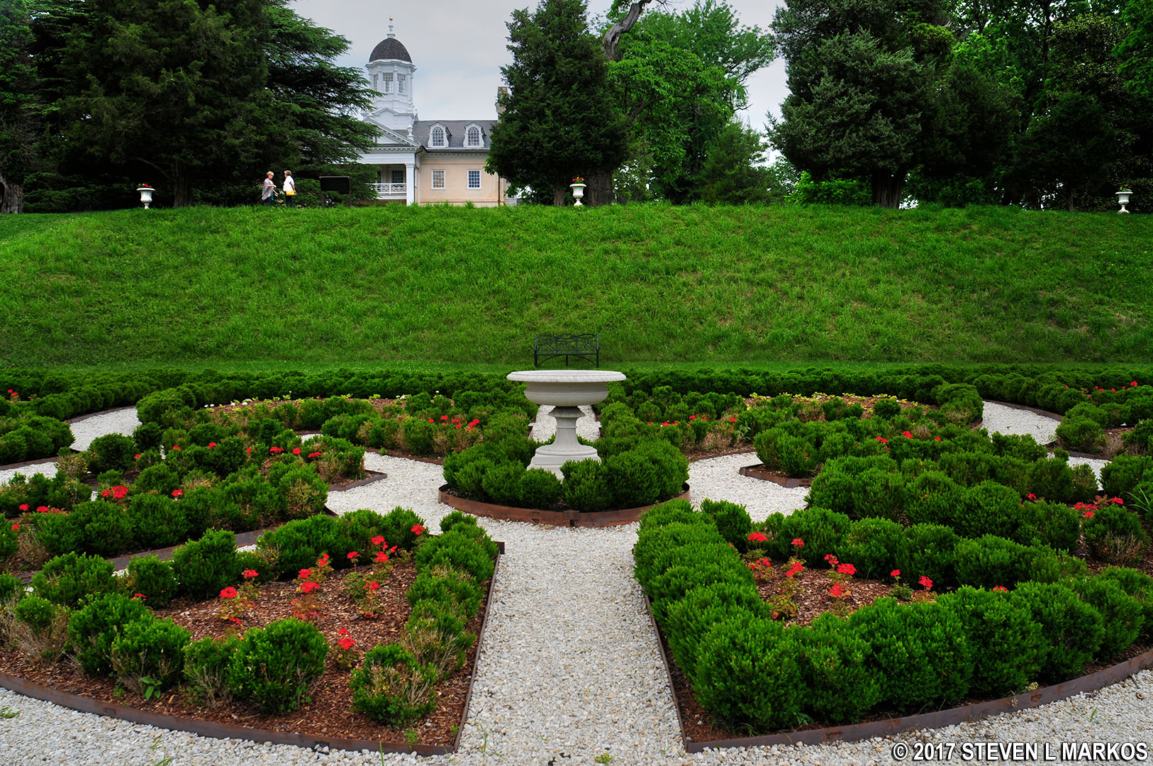 Hampton national historic site - View Of The Hampton Mansion From The Gardens