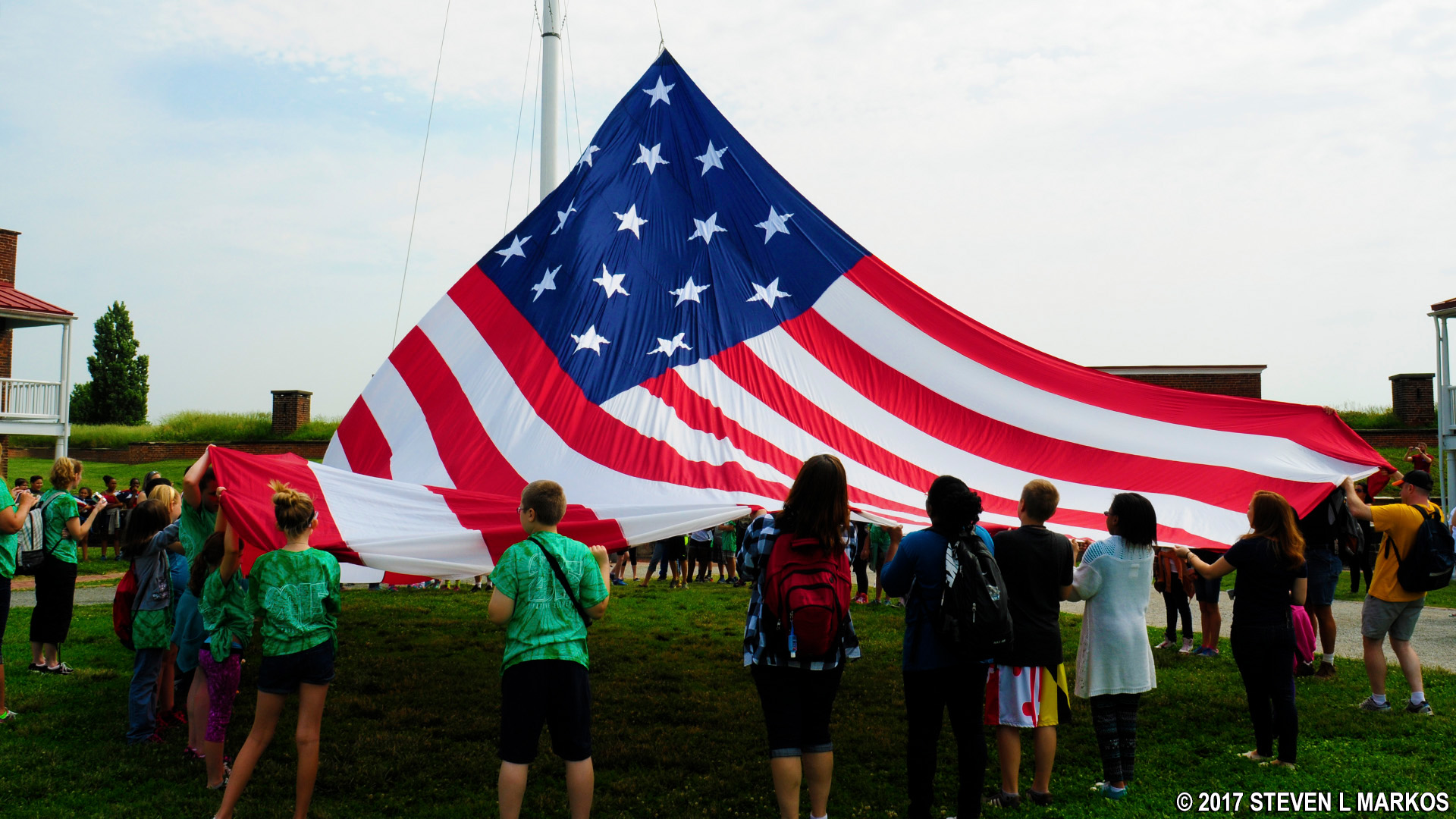 Fort Mchenry National Monument And Historic Shrine Flag Change