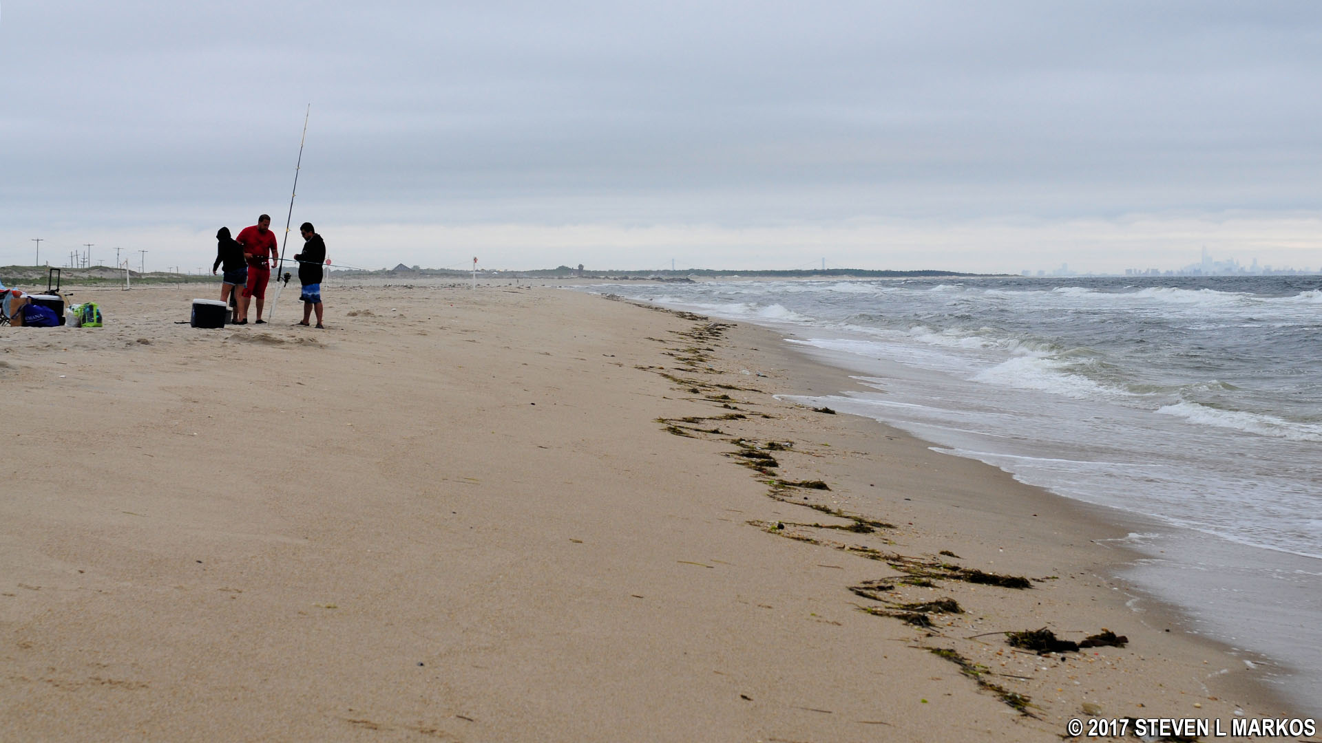 sandy hook surf fishing reports