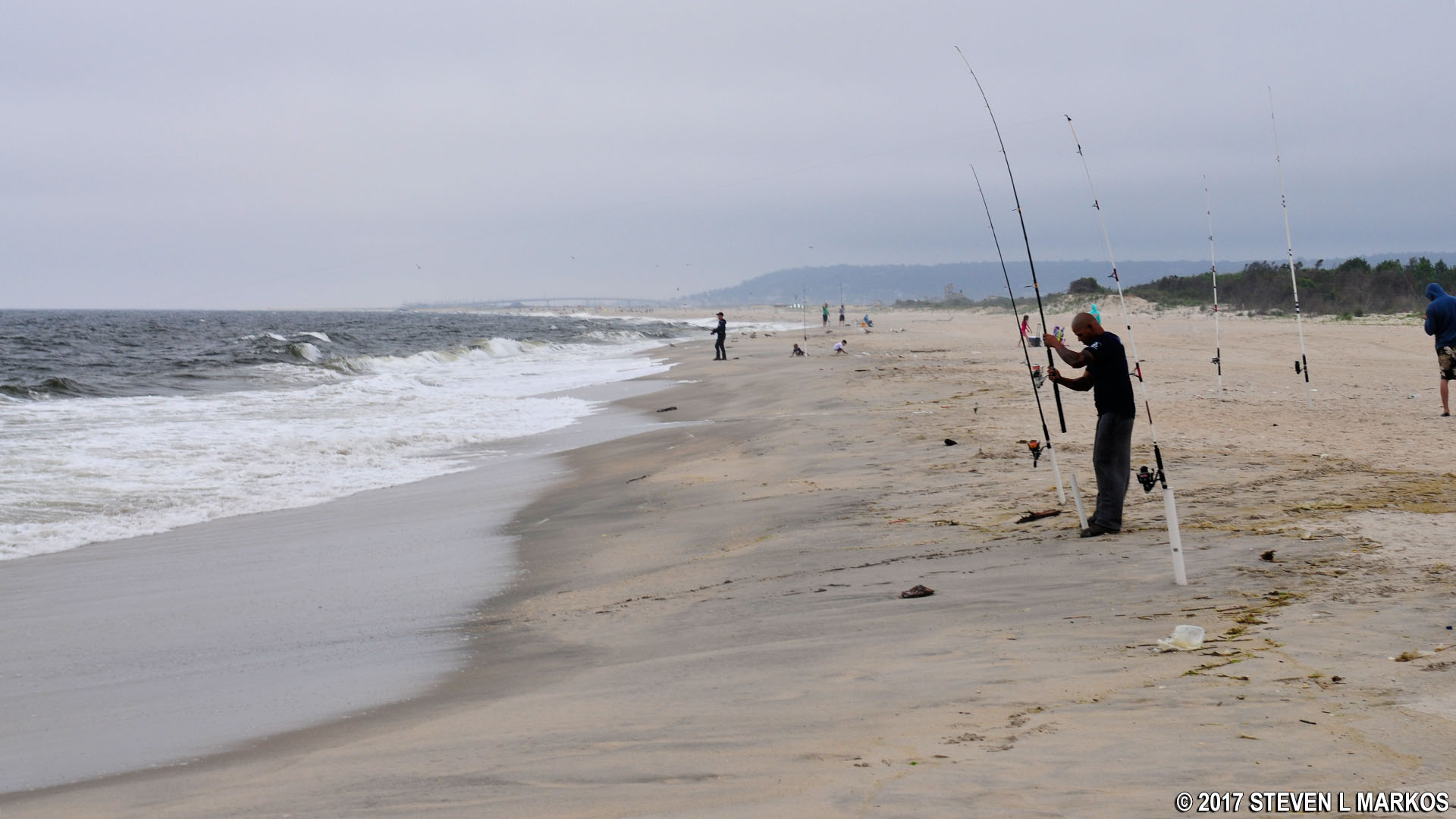 Gateway National Recreation Area Fishing At Sandy Hook