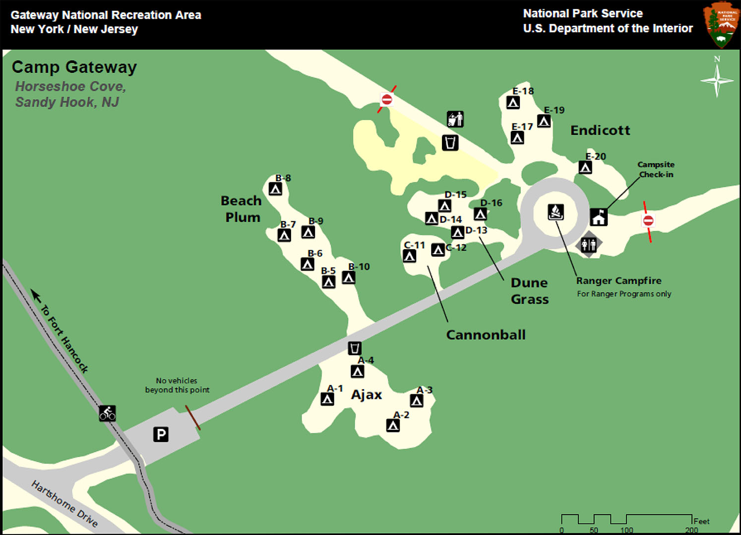 Sandy-Hook-Campground-Map | on newtown conn map, watertown map, fairfield map, avalon map, jacob riis park map, beach haven map, westport map, white plains map, prospect map, cherry hill map, long branch map, newtown connecticut map, albany map, essex map, new castle map, bloomfield college map, milford map, tuckerton seaport map, roxbury map, woodstock map,