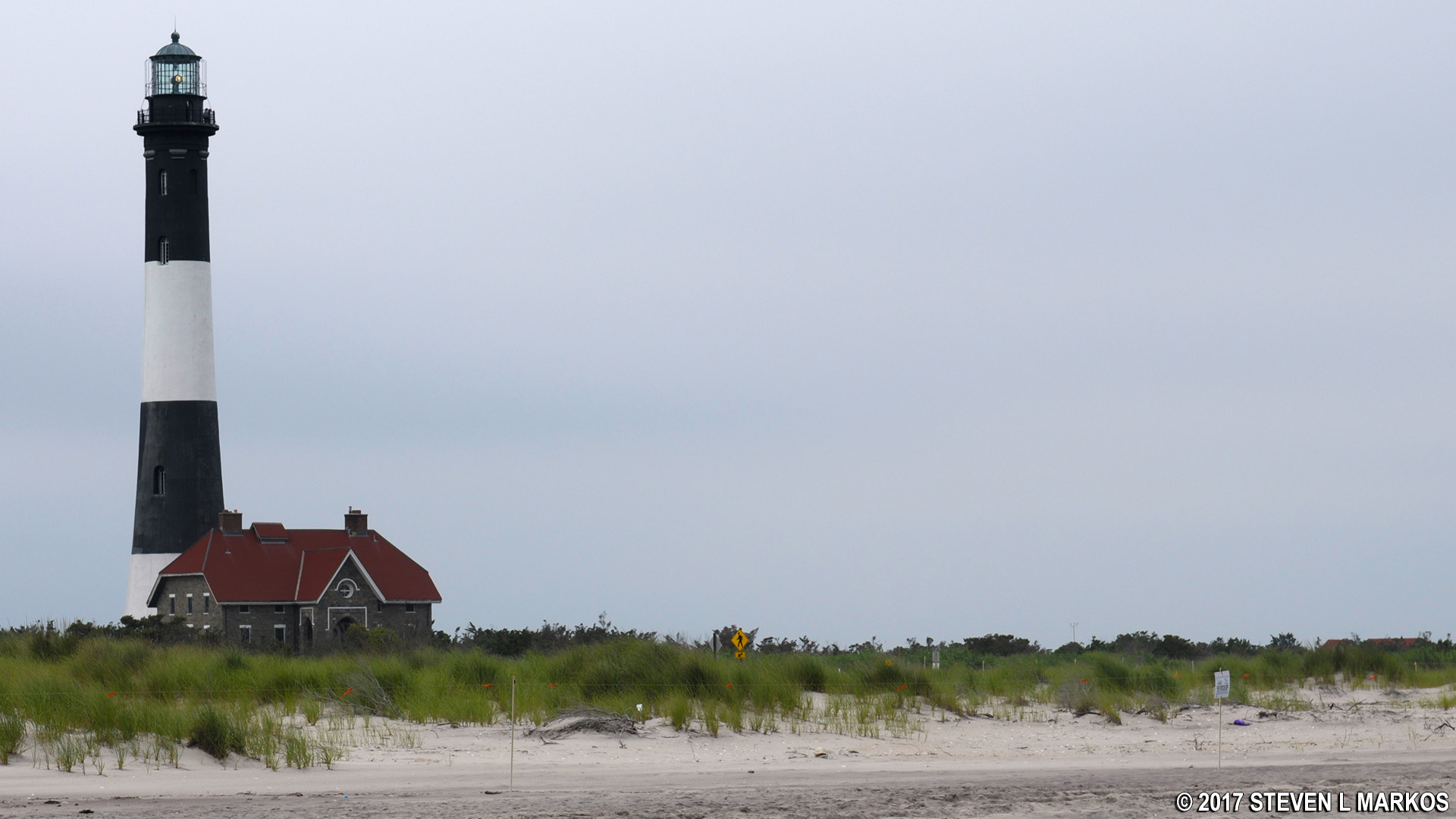 Beach Near The Fire Island Lighthouse