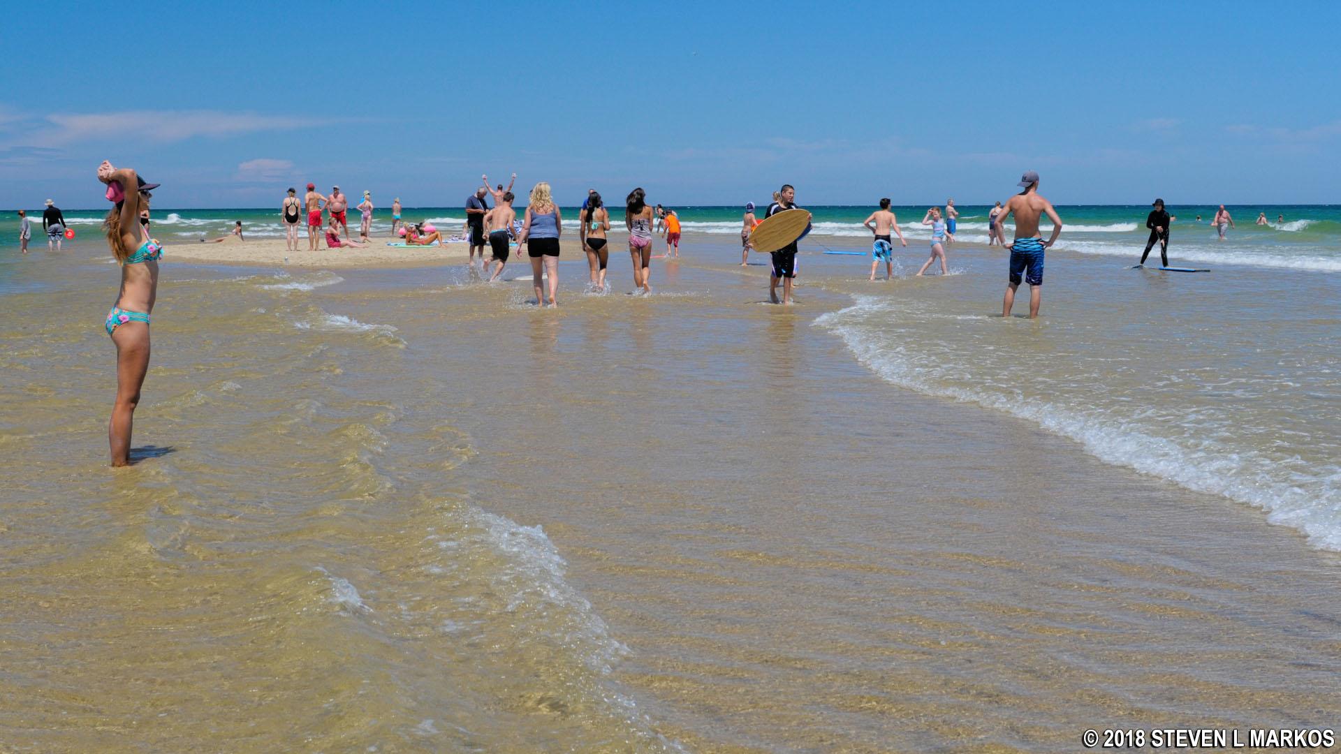 Sandbar Just Off The S Of Coast Guard Beach