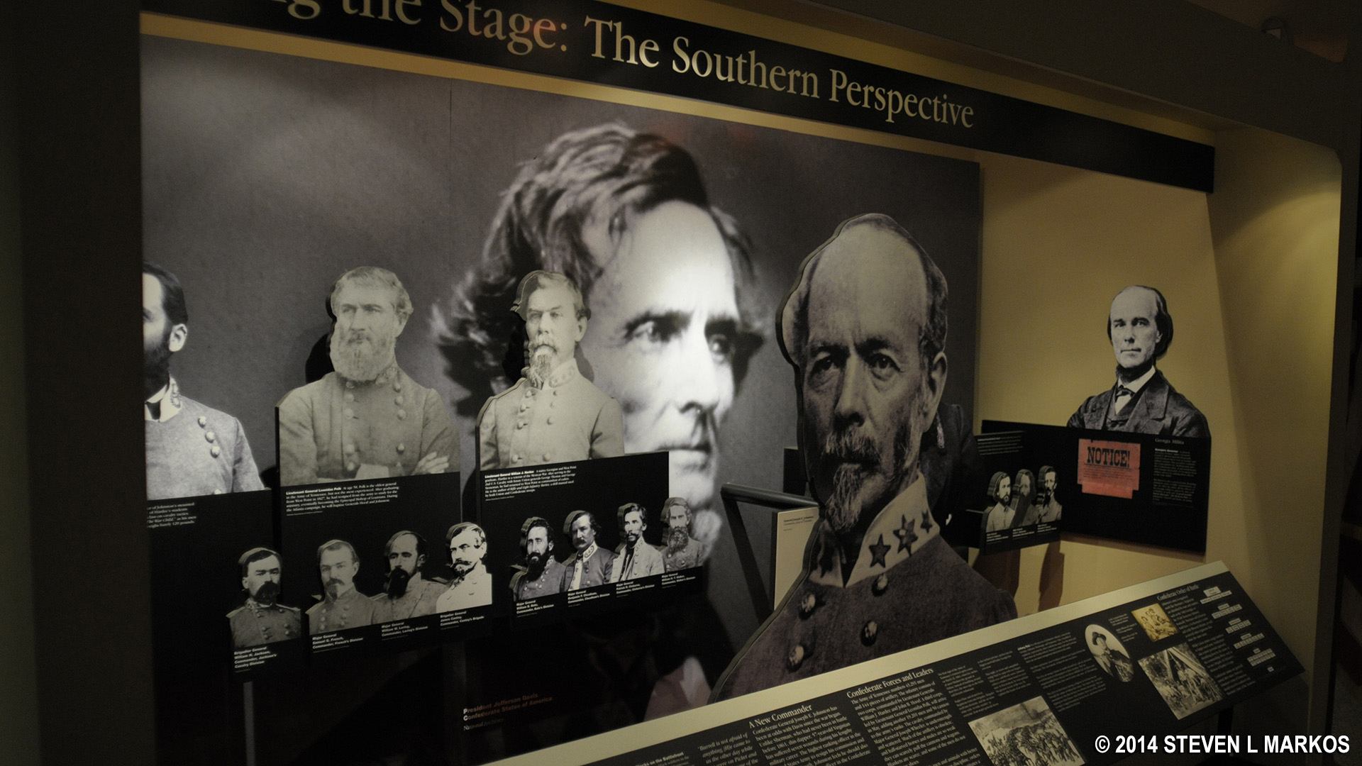 Kennesaw Mountain National Battlefield Park   VISITOR CENTER AND