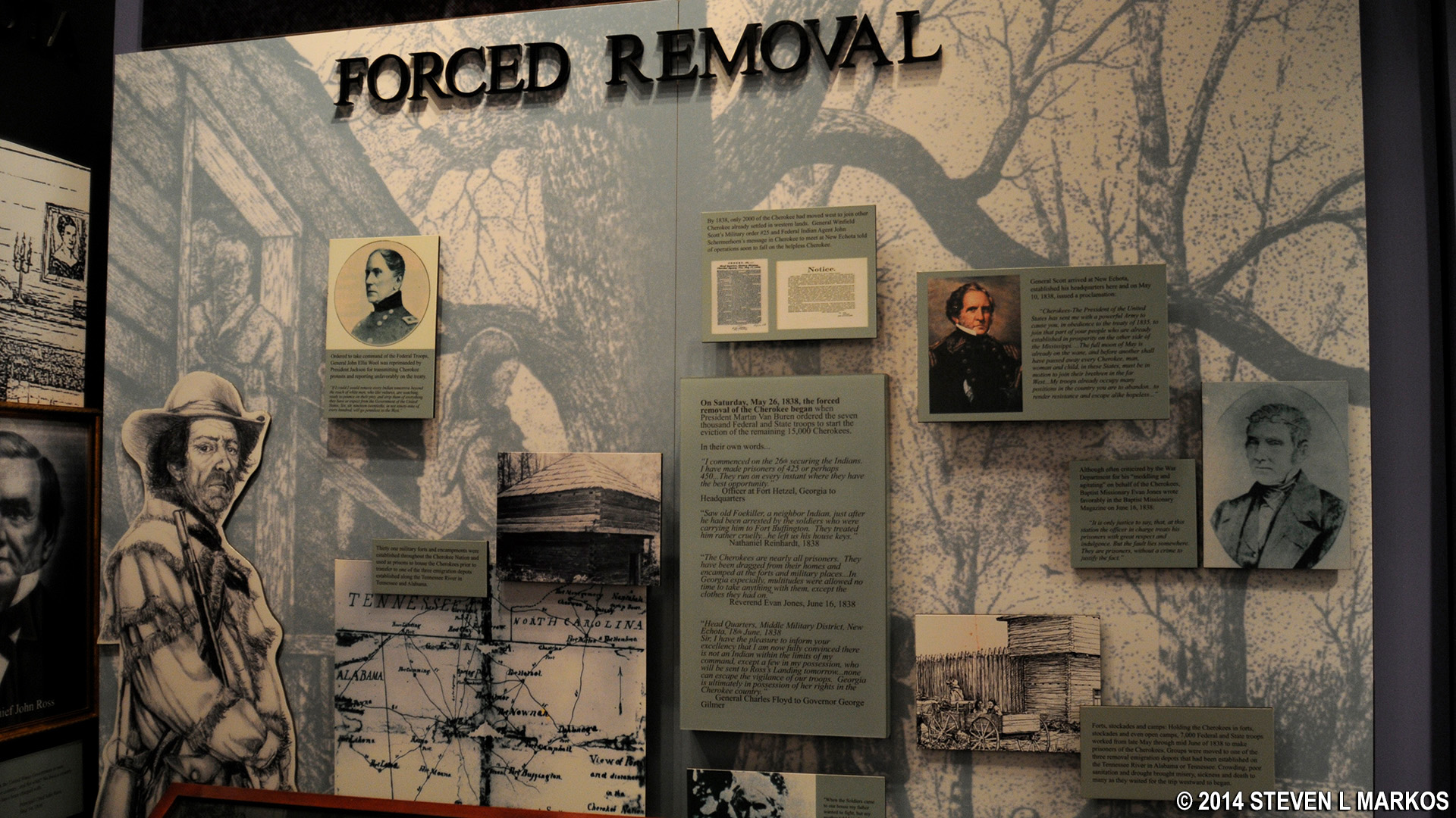 Trail of Tears National Historical Trail   HISTORY OF THE